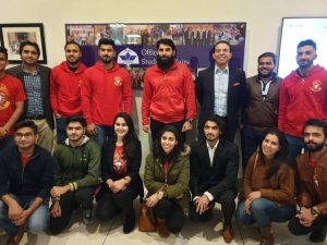 SLUMS hosted Islamabad United for an interactive session with LUMS Community